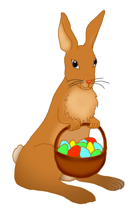 Cracked crown clipart svg library download Funny Easter Bunny Clipart svg library download