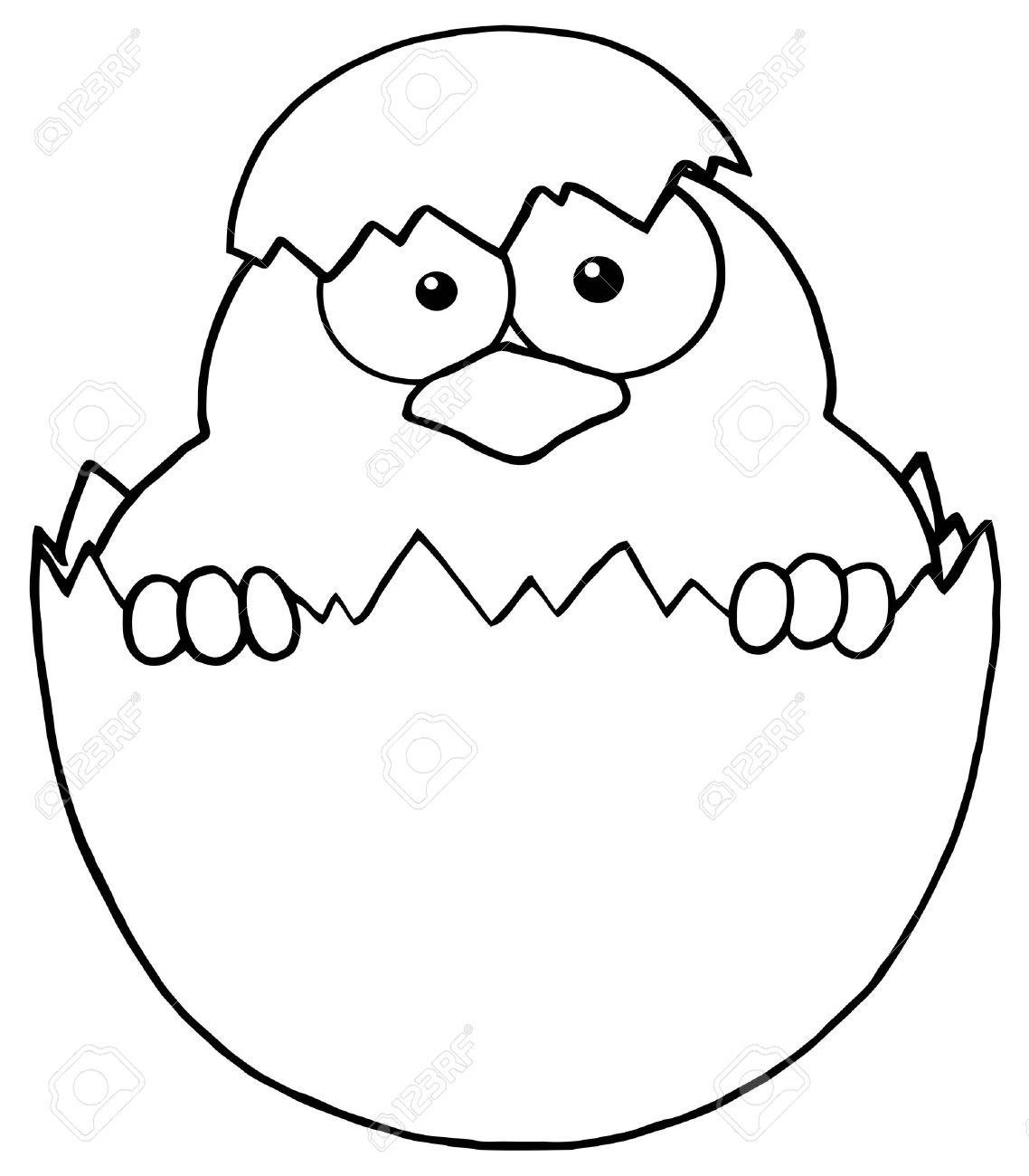 Cracked easter egg clipart. Free clip art of