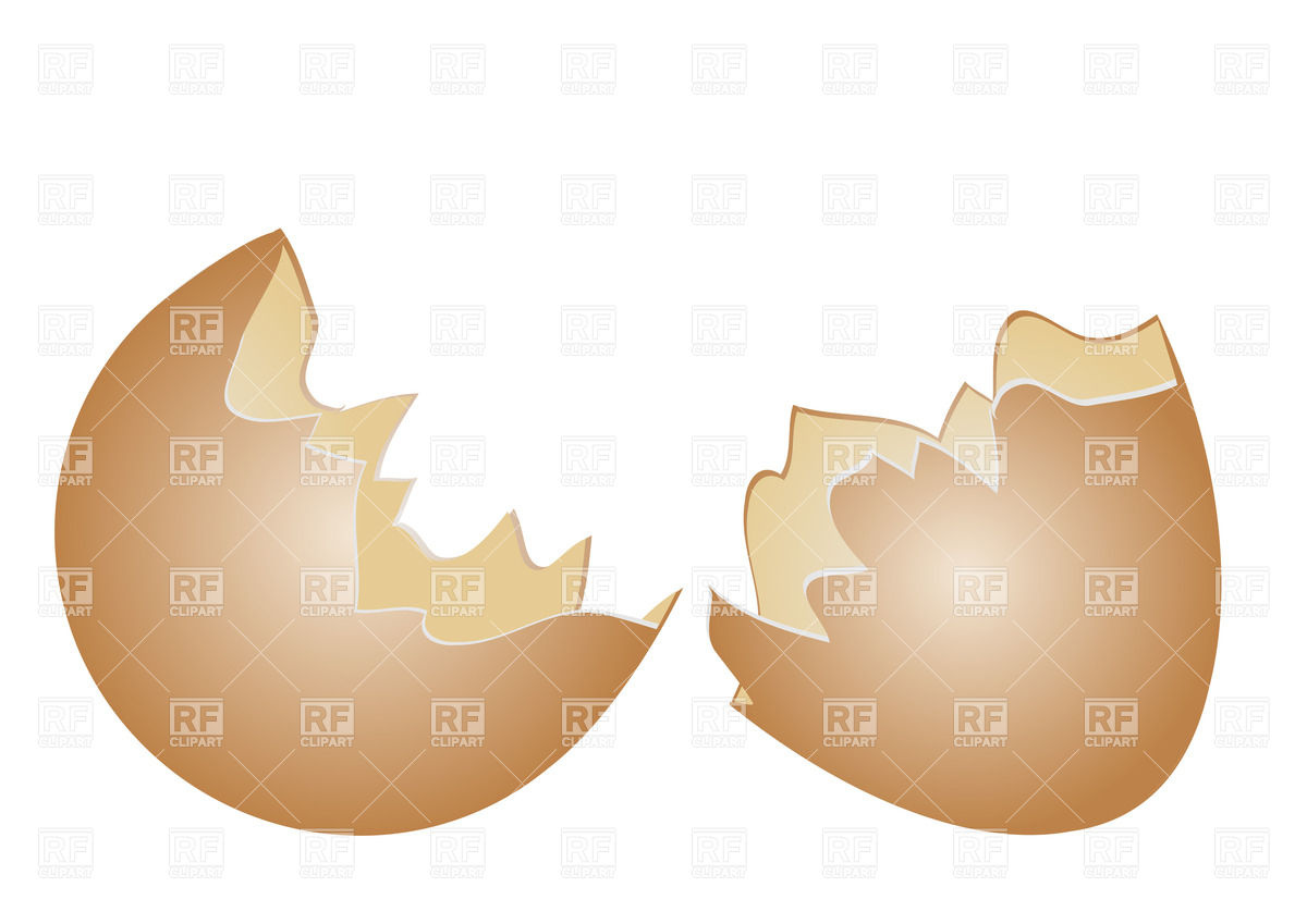 Cracked egg shell clip art png free Broken egg shell Vector Image #35198 – RFclipart png free