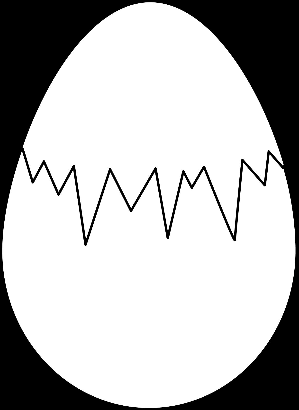 Cracked egg shell clipart stock Cracked eggs clipart black art - ClipartFest stock
