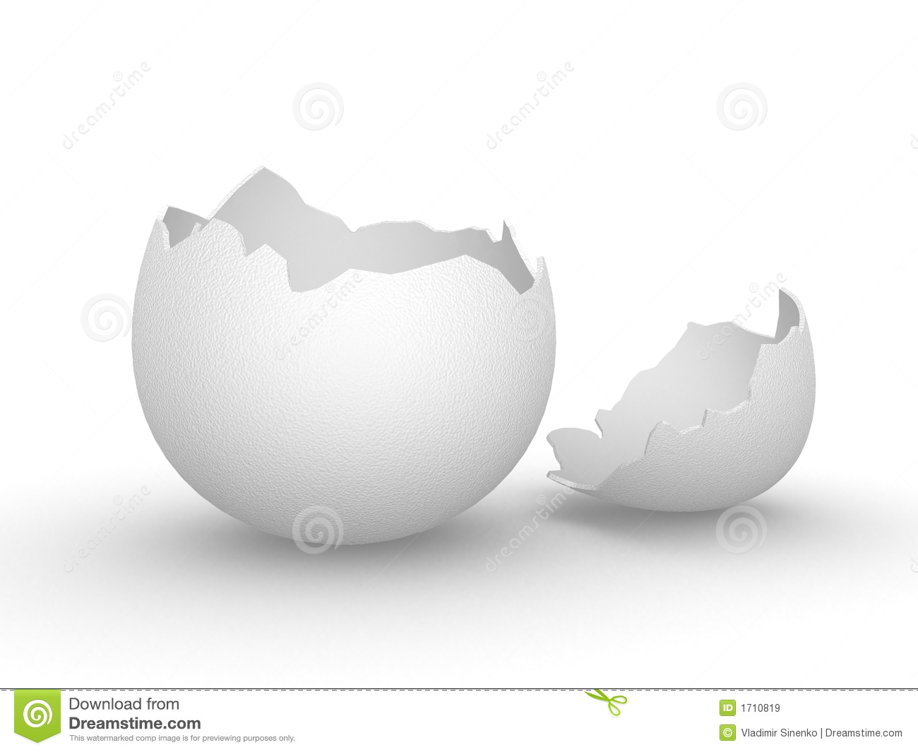 Cracked egg shell clipart picture freeuse Broken Empty Eggshell Royalty Free Stock Images - Image: 1710819 picture freeuse