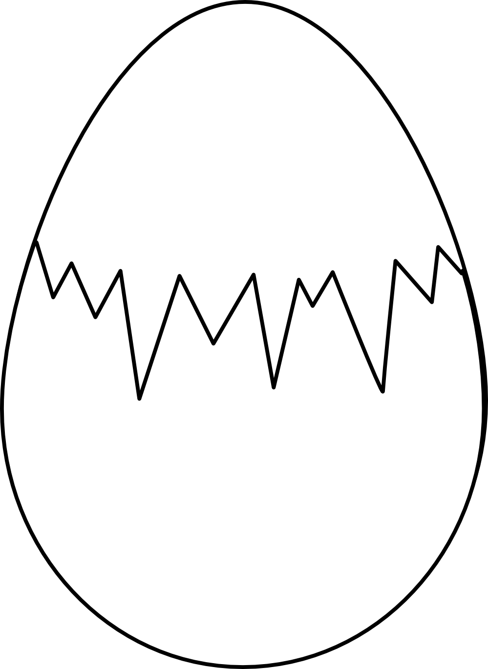 Cracked egg shell clipart svg royalty free Yolk PNG Black And White Transparent Yolk Black And White.PNG Images ... svg royalty free