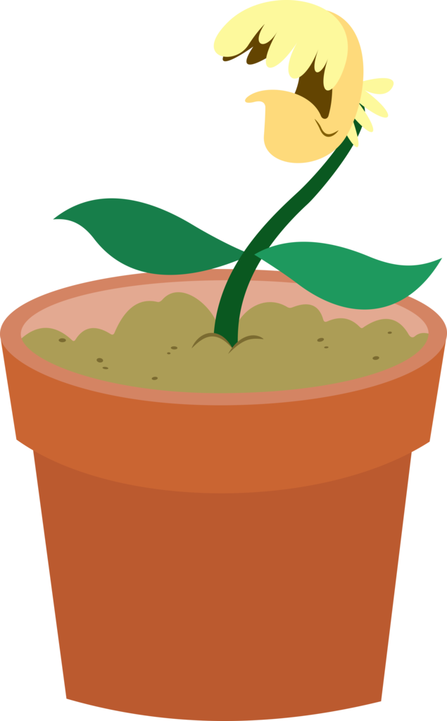 Cracked flower pot clipart clipart royalty free 1676314 - artist:dasprid, coughing, flower, flower pot, no pony ... clipart royalty free