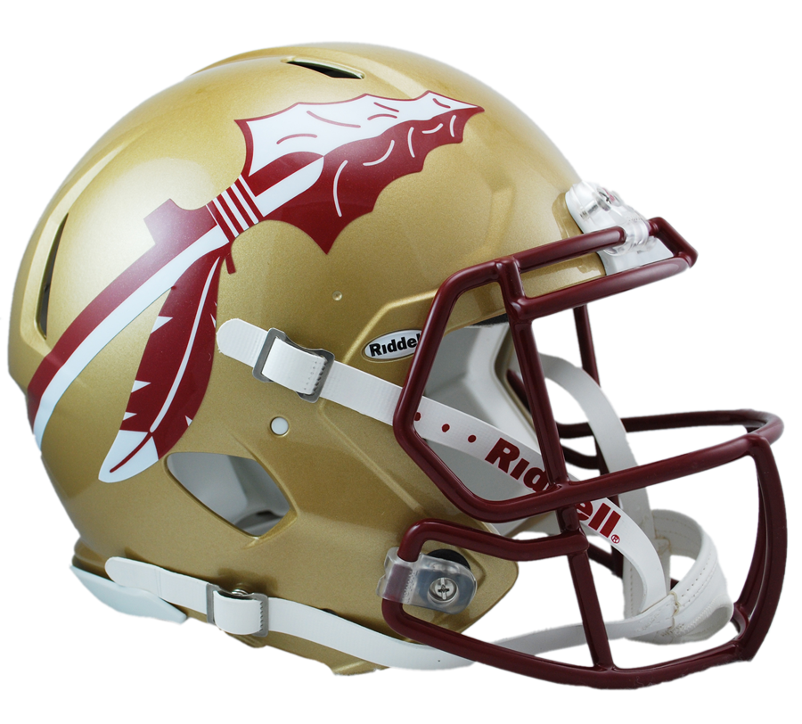 Cracked football helmet clipart black and white download Florida state helmet Logos black and white download