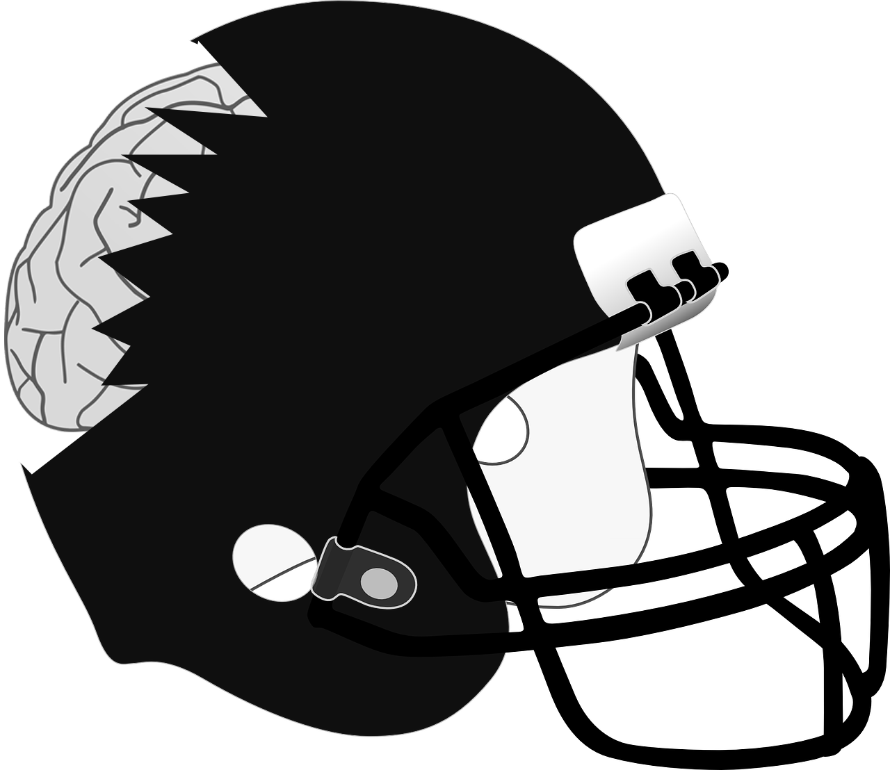 Football linebacker clipart jpg black and white library Even after crackdown, concussions still plague the NFL | The Paisano jpg black and white library