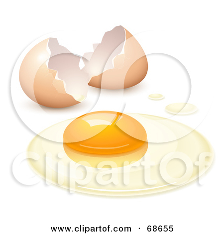 Cracked open egg clipart clip art transparent library Royalty-Free (RF) Raw Egg Clipart, Illustrations, Vector Graphics #1 clip art transparent library