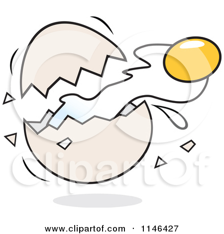 Cracked open egg clipart picture transparent library Cracked open egg clipart - ClipartFest picture transparent library