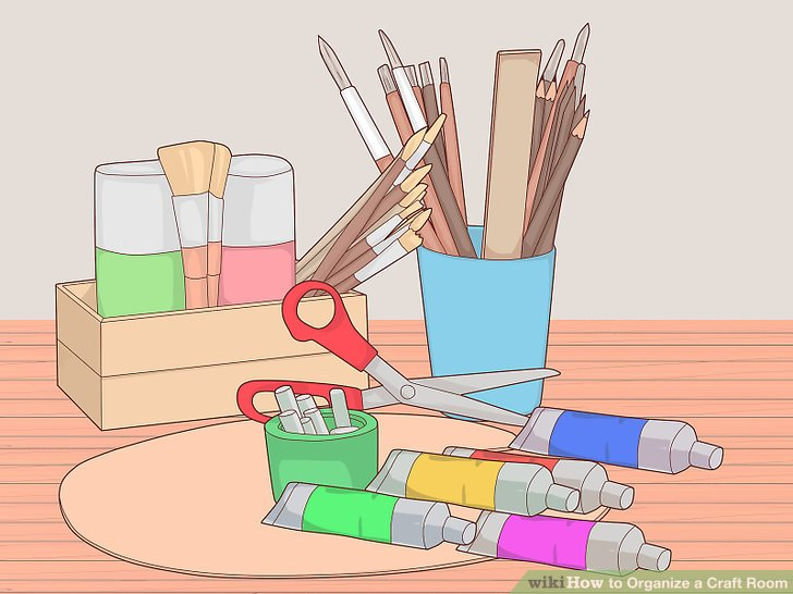 Got supplies for the art room clipart clip art library stock 3 Ways to Organize a Craft Room - wikiHow clip art library stock