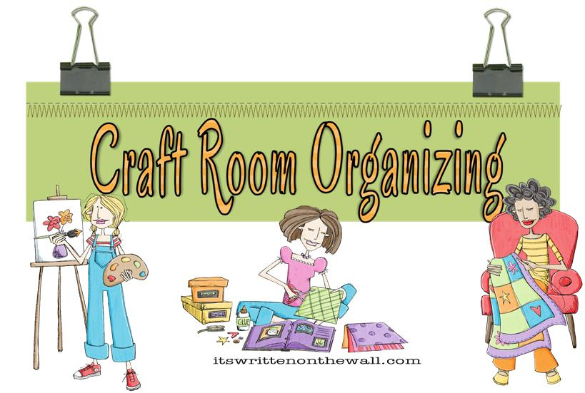 Craft room clipart jpg free library It\'s Written on the Wall: Craft Room Organizing-Store over 200 Rolls ... jpg free library