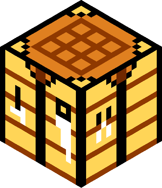 Crafting table clipart clip stock minecraft crafting table - Grid Paint clip stock