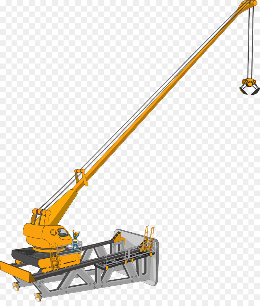 Crane machine clipart png royalty free crane machine clipart Heavy Machinery Crane Clip art clipart ... png royalty free
