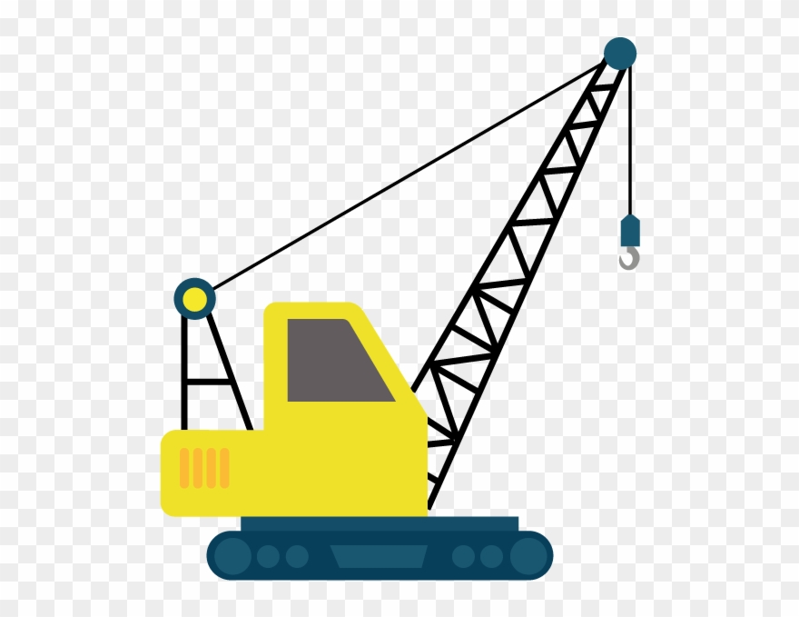 Crane machine clipart transparent Heavy-lifting - Clip Art Construction Crane - Png Download (#3228254 ... transparent