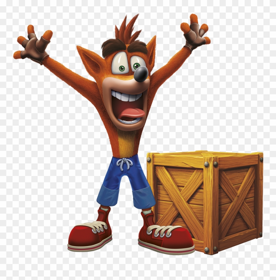 Crash bandicoot n sane trilogy clipart svg free 11034689 - Crash Bandicoot N Sane Running Clipart (#375018) - PinClipart svg free