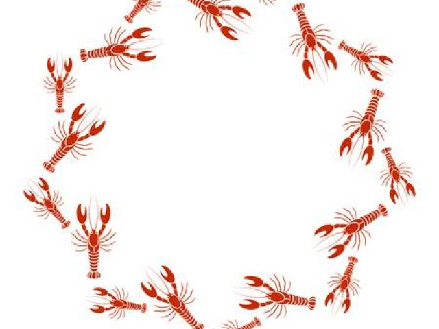 Crawfish border clipart vector stock Free Crawfish Clipart, Download Free Clip Art on Owips.com vector stock