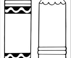 Crayon outline clipart free library Crayon outline clipart 3 » Clipart Station free library
