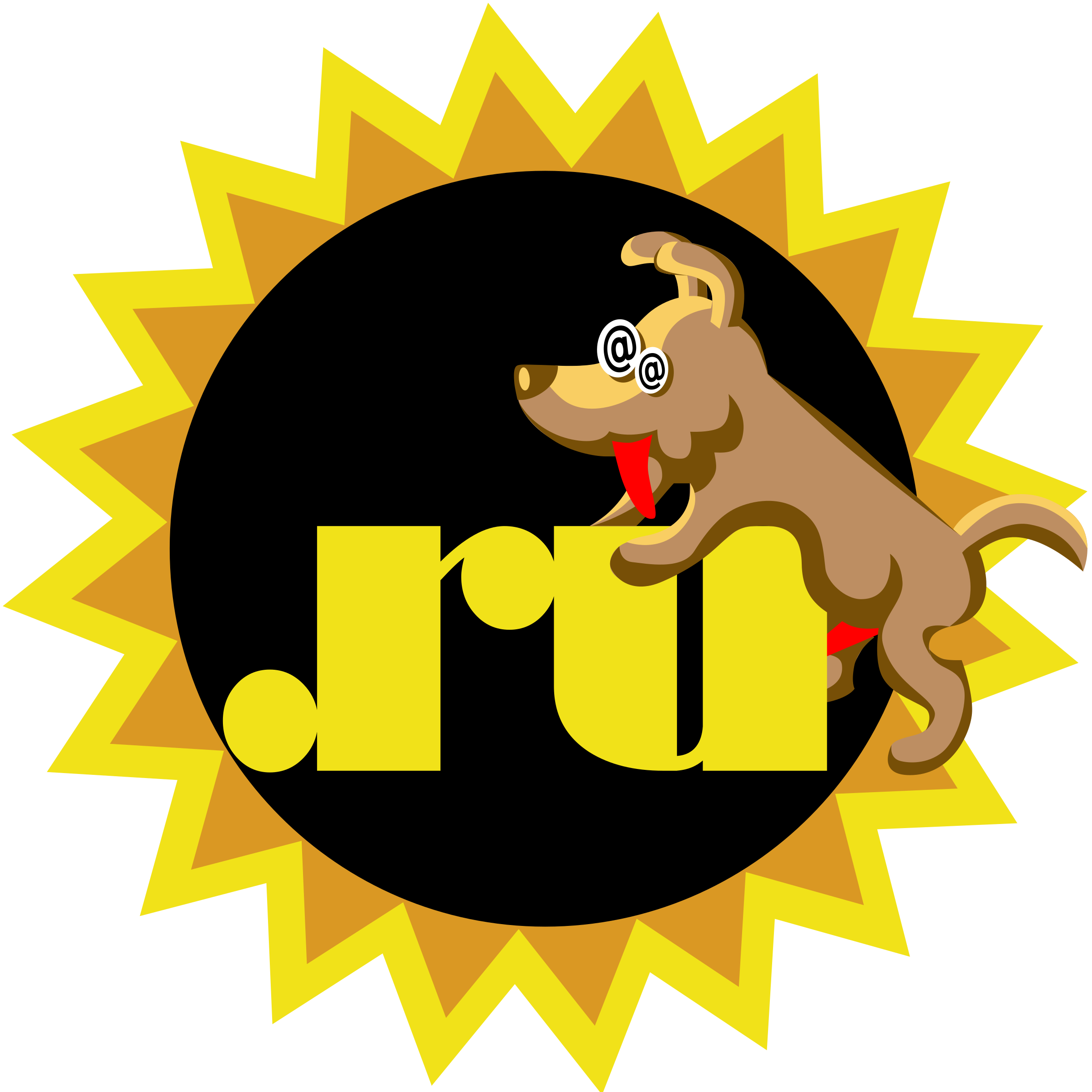 Crazy dog clipart svg free Clipart - Dog.ru svg free