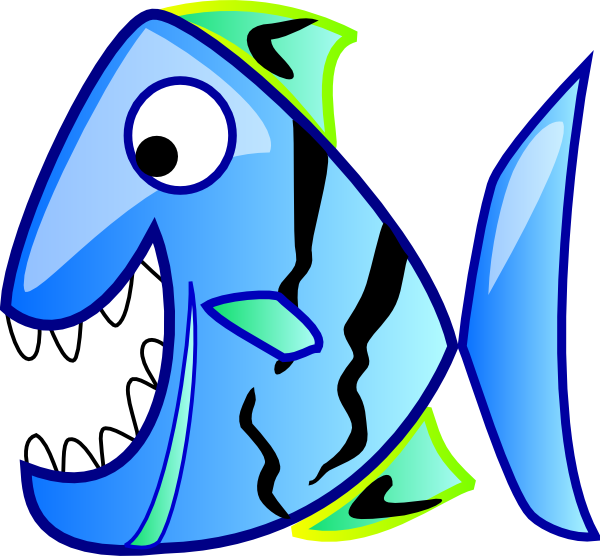 Ugly christmas clipart picture free Blue Fish Clip Art at Clker.com - vector clip art online, royalty ... picture free