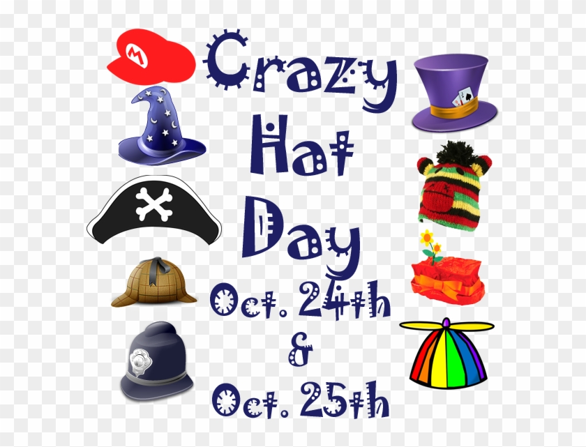 Crazy hat day clipart clip art free stock Crazy Hat Day - Crazy Hat Day Clip Art, HD Png Download - 600x600 ... clip art free stock