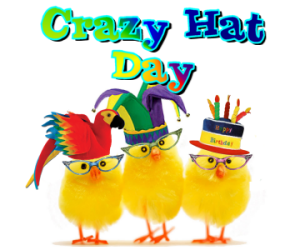 Crazy hat day clipart image free stock Pin by Mary Ann Gutierrez on school stuff | Crazy hat day, Crazy ... image free stock