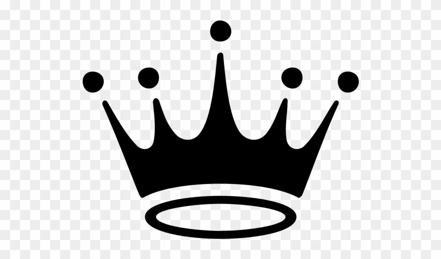 Crcrown clipart svg free library Crown Logo - Company Logo With A Black Crown Clipart (#205808 ... svg free library