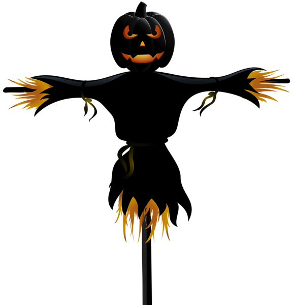 Scary halloween pumpkin clipart graphic royalty free library Halloween Pumpkin Scarecrow Transparent PNG Clip Art | Halloween ... graphic royalty free library
