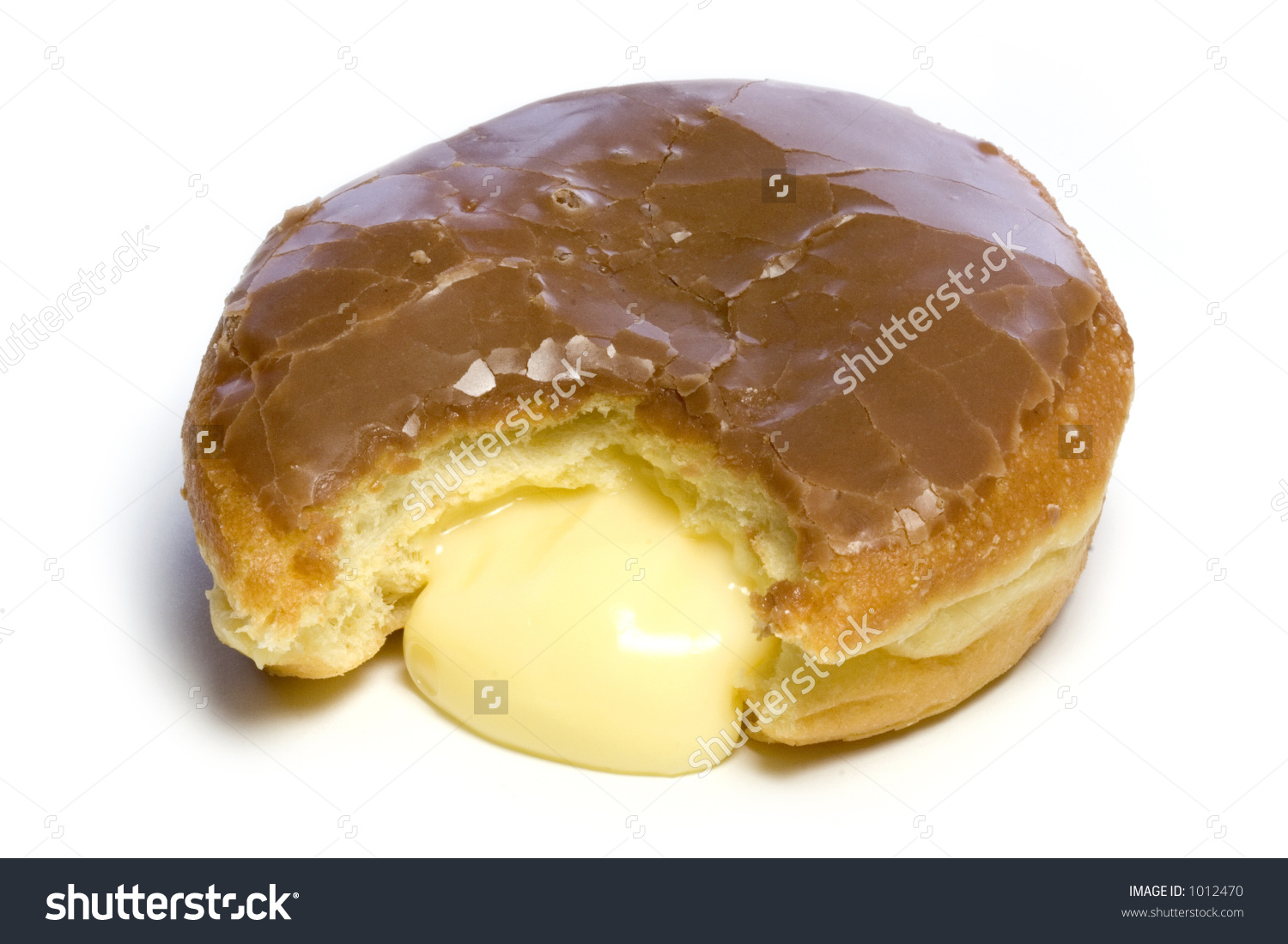 Cream filled donut clipart banner library download Cream Filled Donut Stock Photo 1012470 : Shutterstock banner library download