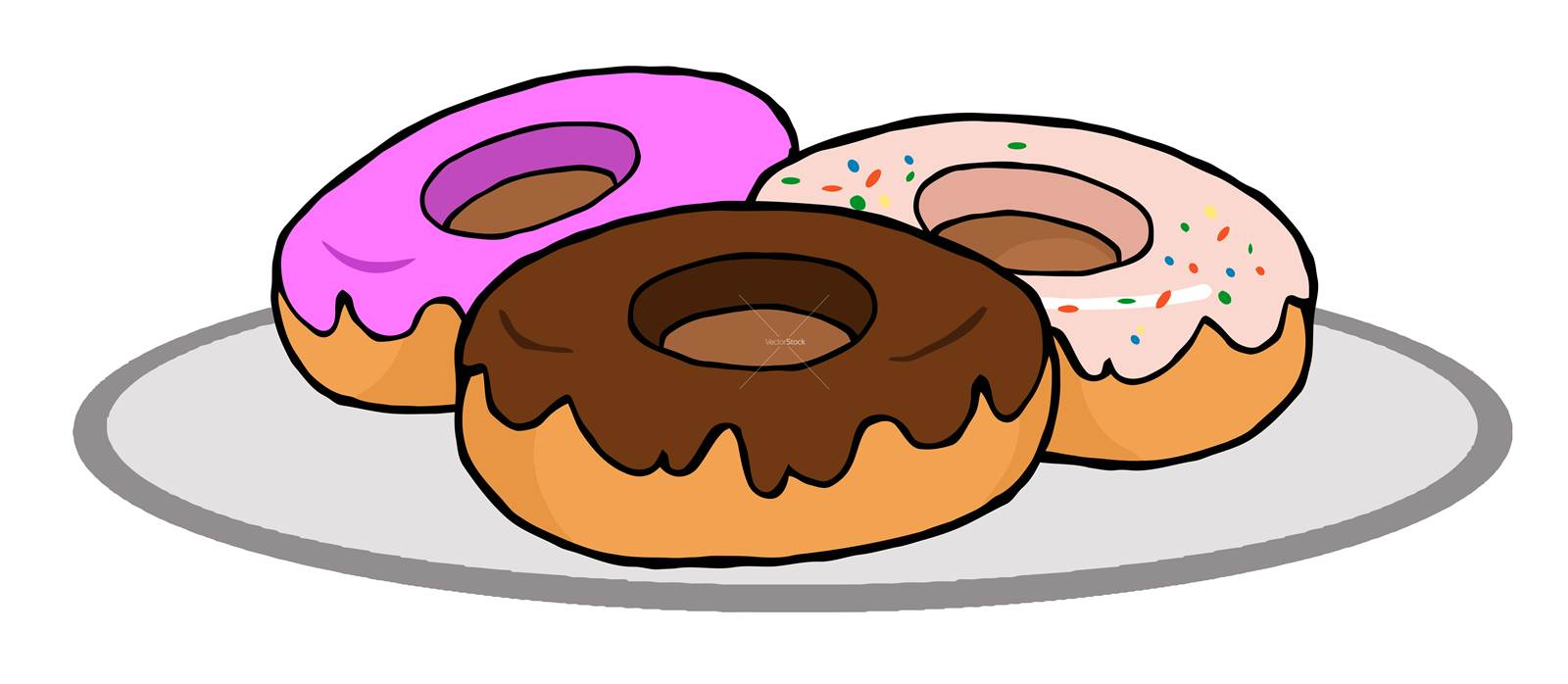 Cream filled donut clipart jpg freeuse library 12 Fun