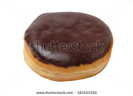 Cream filled donut clipart image freeuse stock Jelly Filled Donut Stock Photos, Royalty-Free Images & Vectors ... image freeuse stock
