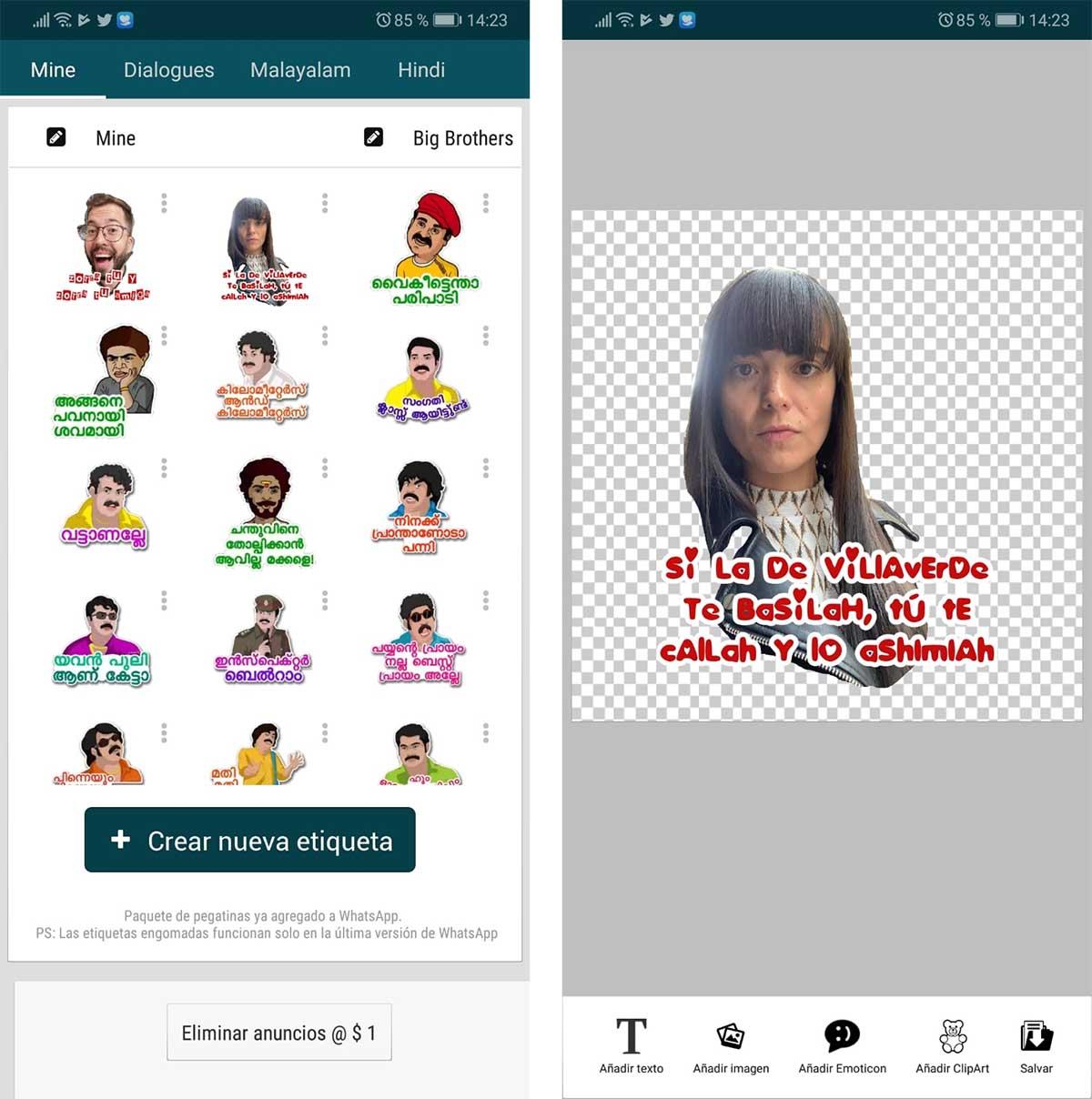 Crear texto clipart svg free Las 3 mejores aplicaciones para crear Stickers de WhatsApp svg free