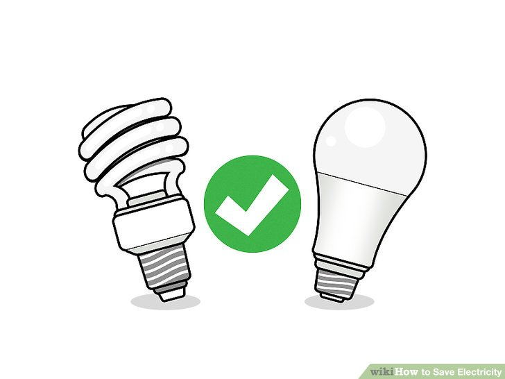 How to Save Electricity (with Pictures) - wikiHow jpg transparent stock