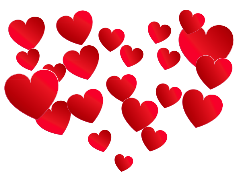 Create in me a clean heart clipart vector transparent Transparent Heart of Hearts PNG Picture | Gallery Yopriceville ... vector transparent