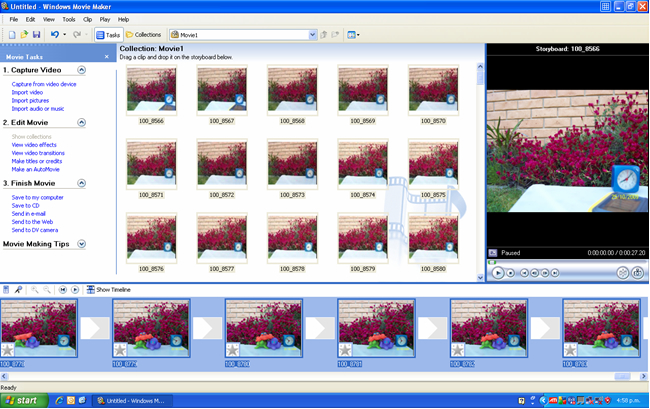 Create movie from clipart files graphic stock Create a video from still images using Windows Movie Maker | Adélie ... graphic stock