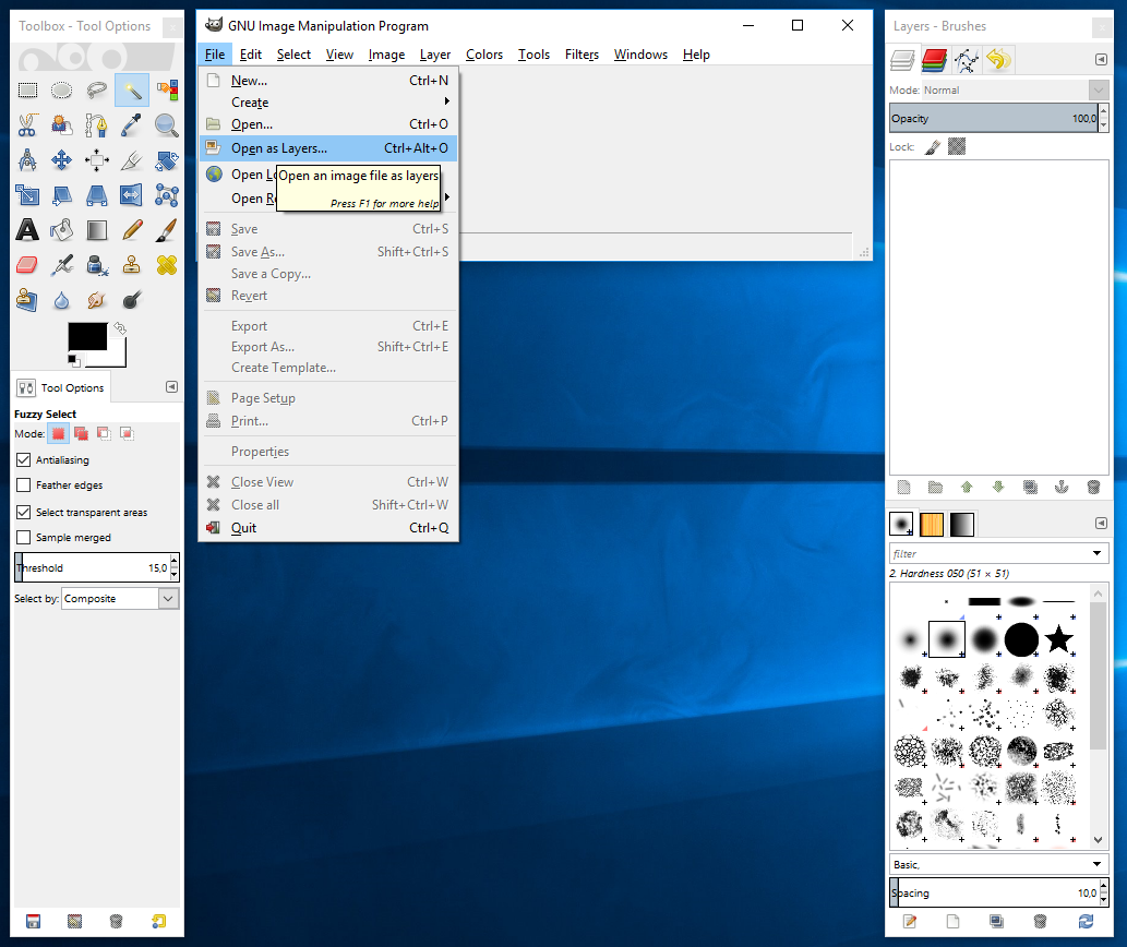 How to Make Background Transparent in Gimp A developer\'s notes vector library download
