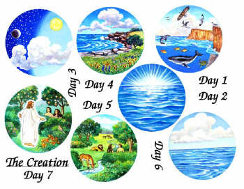 Lds kid scripture felt. Creation day 1 clipart