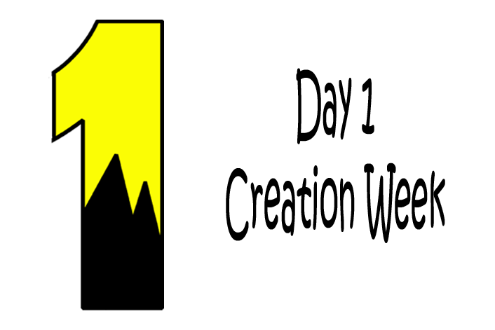 Creation day 1 clipart clip art royalty free stock Day 1- God Created Light | Mission Bible Class clip art royalty free stock