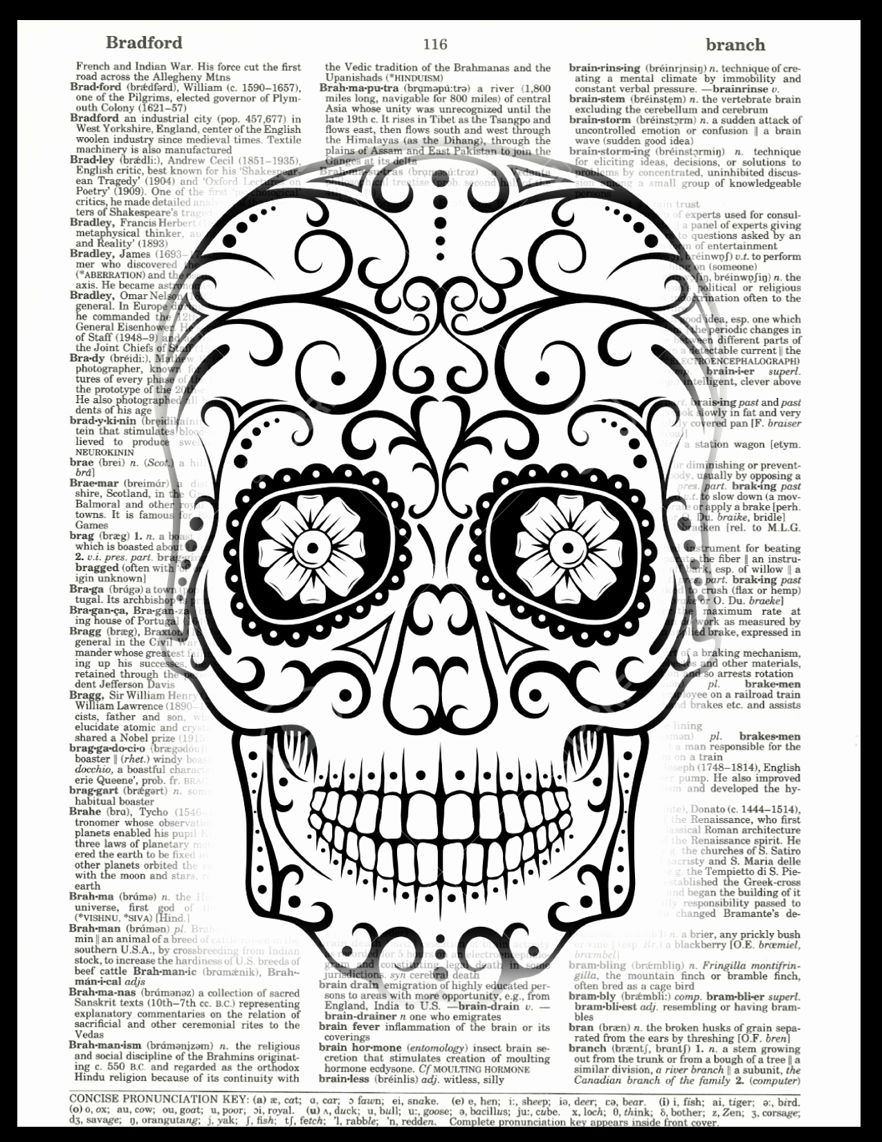 Tiny skull clipart jpg black and white library Religious Clip Art Black and White Best Of Vintage Art Prints Sugar ... jpg black and white library