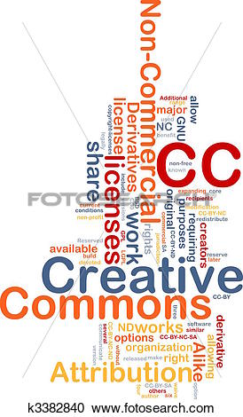 Creative commons clipart search graphic free library Stock Illustrations of Creative commons background concept ... graphic free library