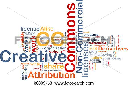 Creative commons clipart search png black and white library Drawing of Creative commons background concept k6809753 - Search ... png black and white library