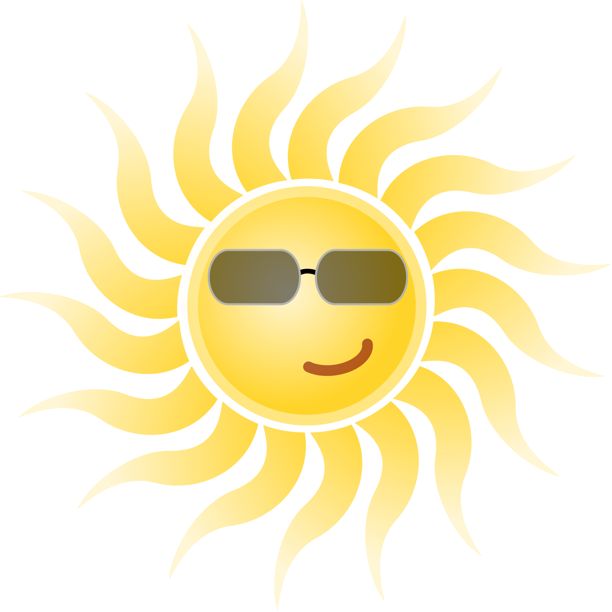 File:Sun wearing sunglasses.svg - Wikimedia Commons vector stock