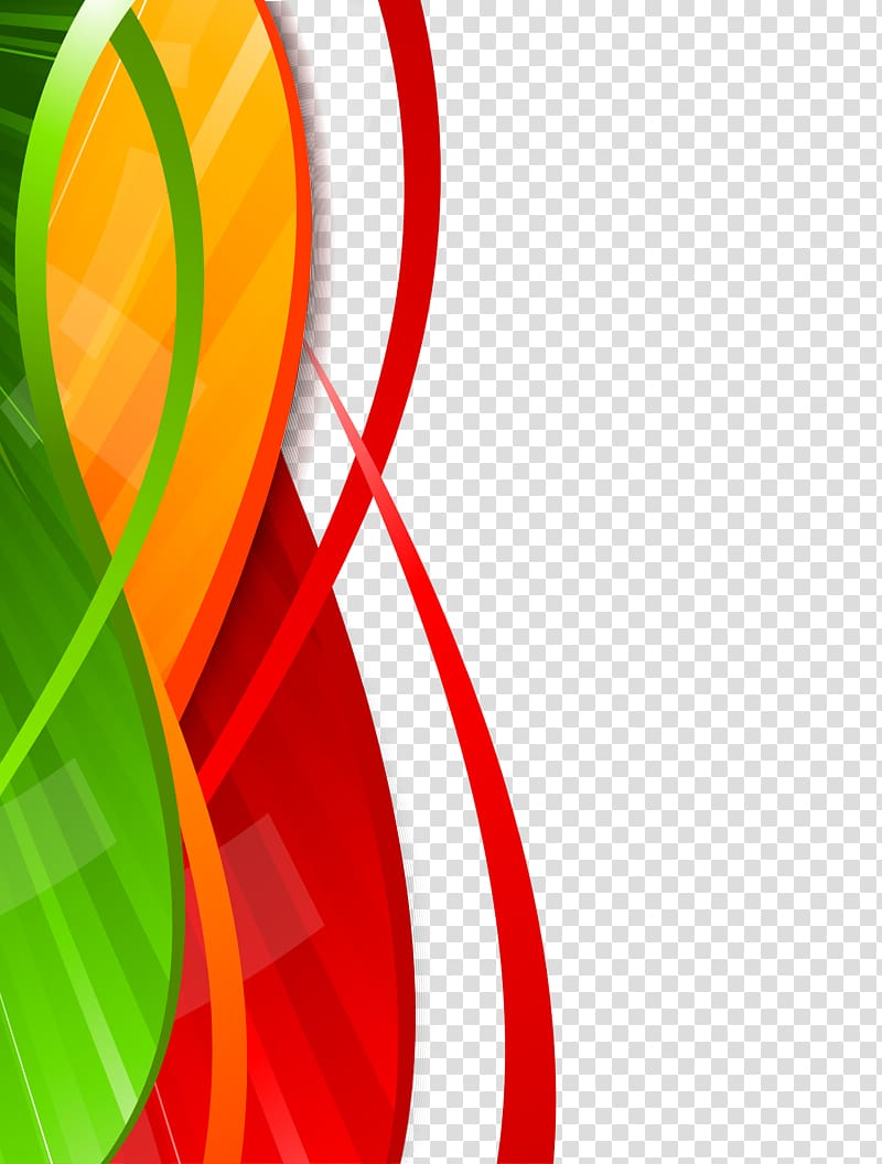 Creative design clipart library Red, yellow, and green abstract , Creative Design transparent ... library