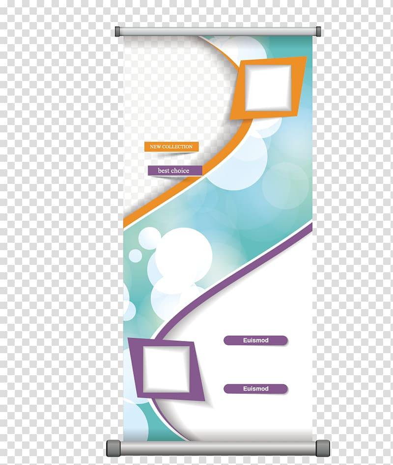 Creative design clipart image transparent White, green, and orange illustration, Poster, Roll creative design ... image transparent