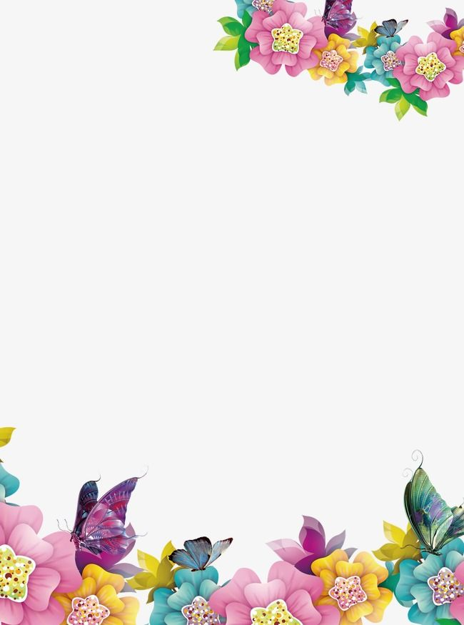 Creative flowers clipart graphic freeuse download Creative Floral Border, Flowers, Creative Borders, Creative PNG ... graphic freeuse download