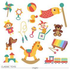 Creator clipart free stock Toys mock up scene creator set | Free Clipart Vectors | Pinterest ... free stock