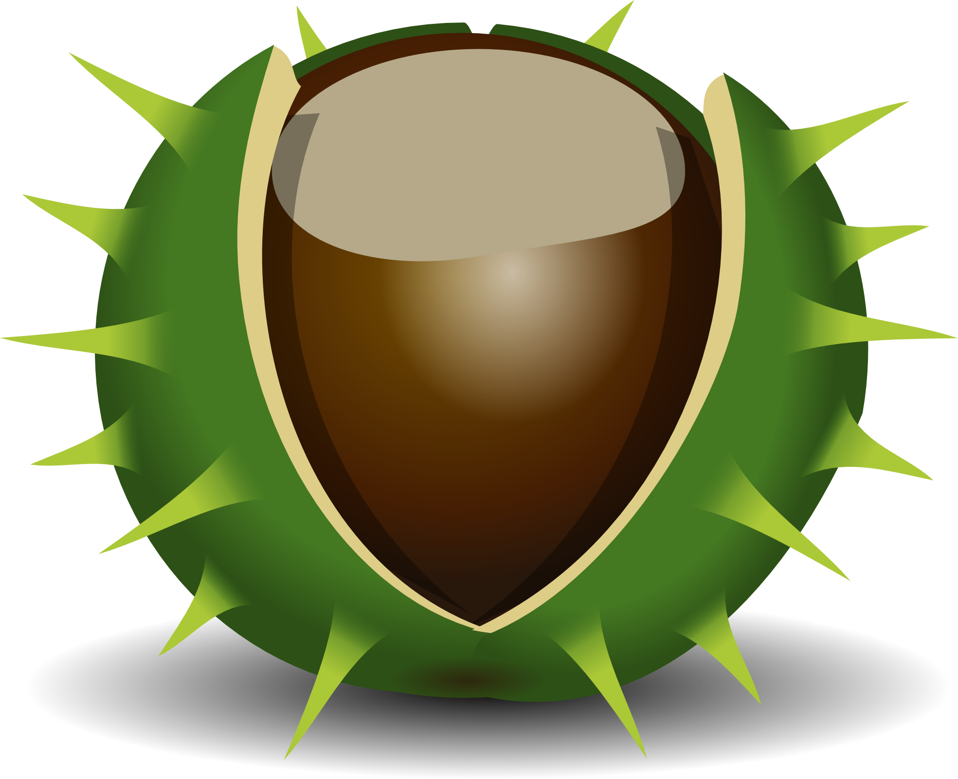 Creator clipart png freeuse library Image - Chestnut-clipart-chestnut-1969px-1-.png | Plants vs. Zombies ... png freeuse library