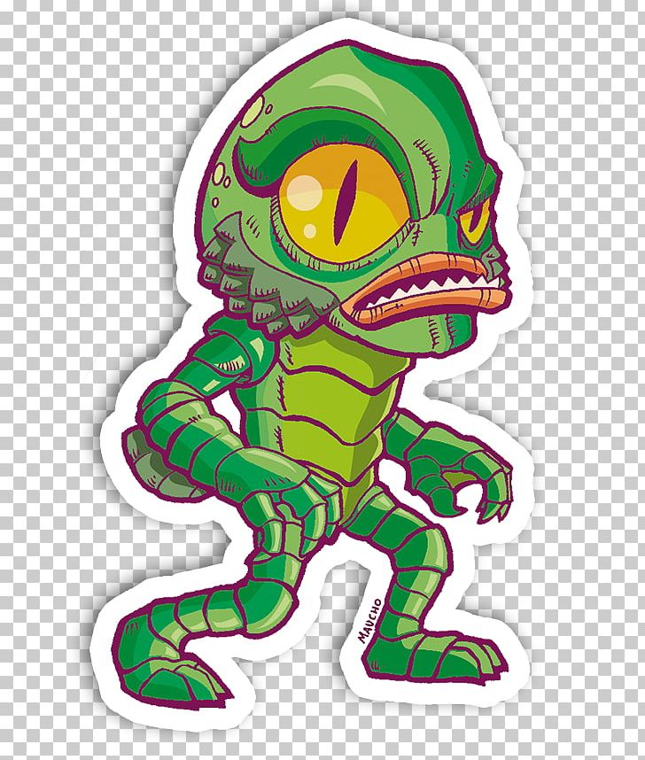 Creature from the black lagoon clipart
