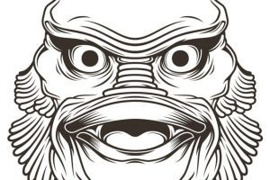 Creature from the black lagoon clipart vector library download Creature from the black lagoon clipart 3 » Clipart Portal vector library download