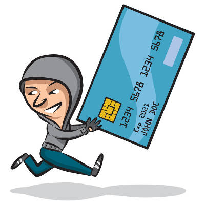 Credit card fraud clipart banner freeuse library Does Credit Card Theft Mean Identity Theft? - Press Start ... banner freeuse library