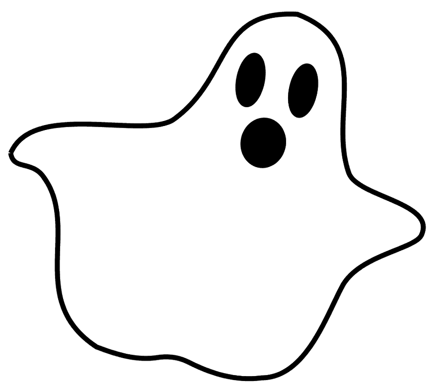 Scary Ghost Clipart (61+) Desktop Backgrounds banner freeuse stock