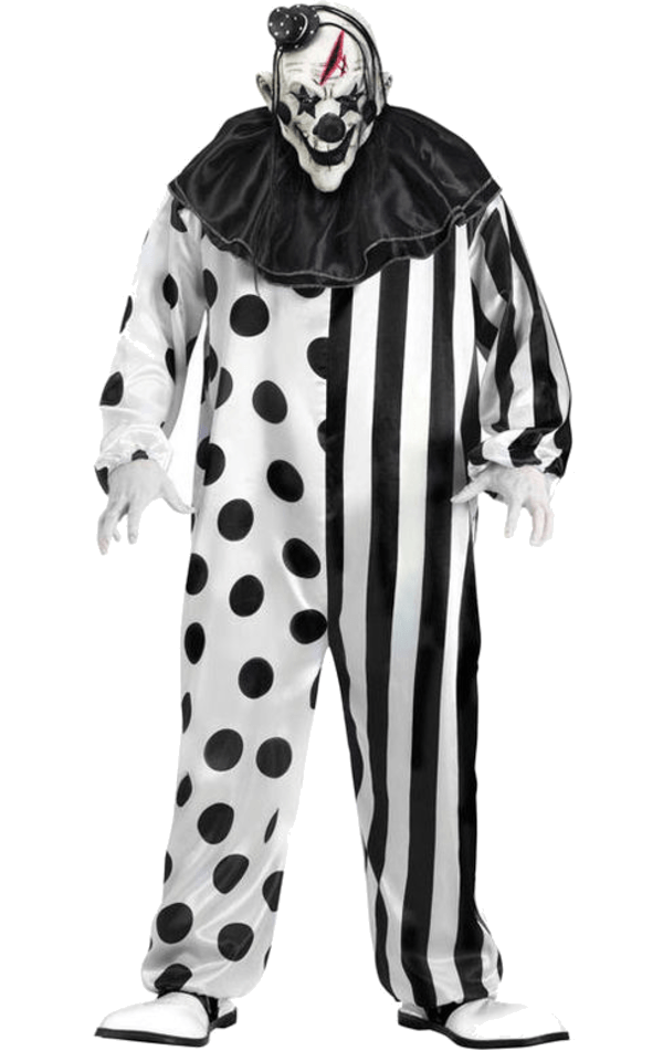 Halloween costumes clipart black and white banner royalty free black and white creepy clown png | backgrounds, clipart, images etc ... banner royalty free