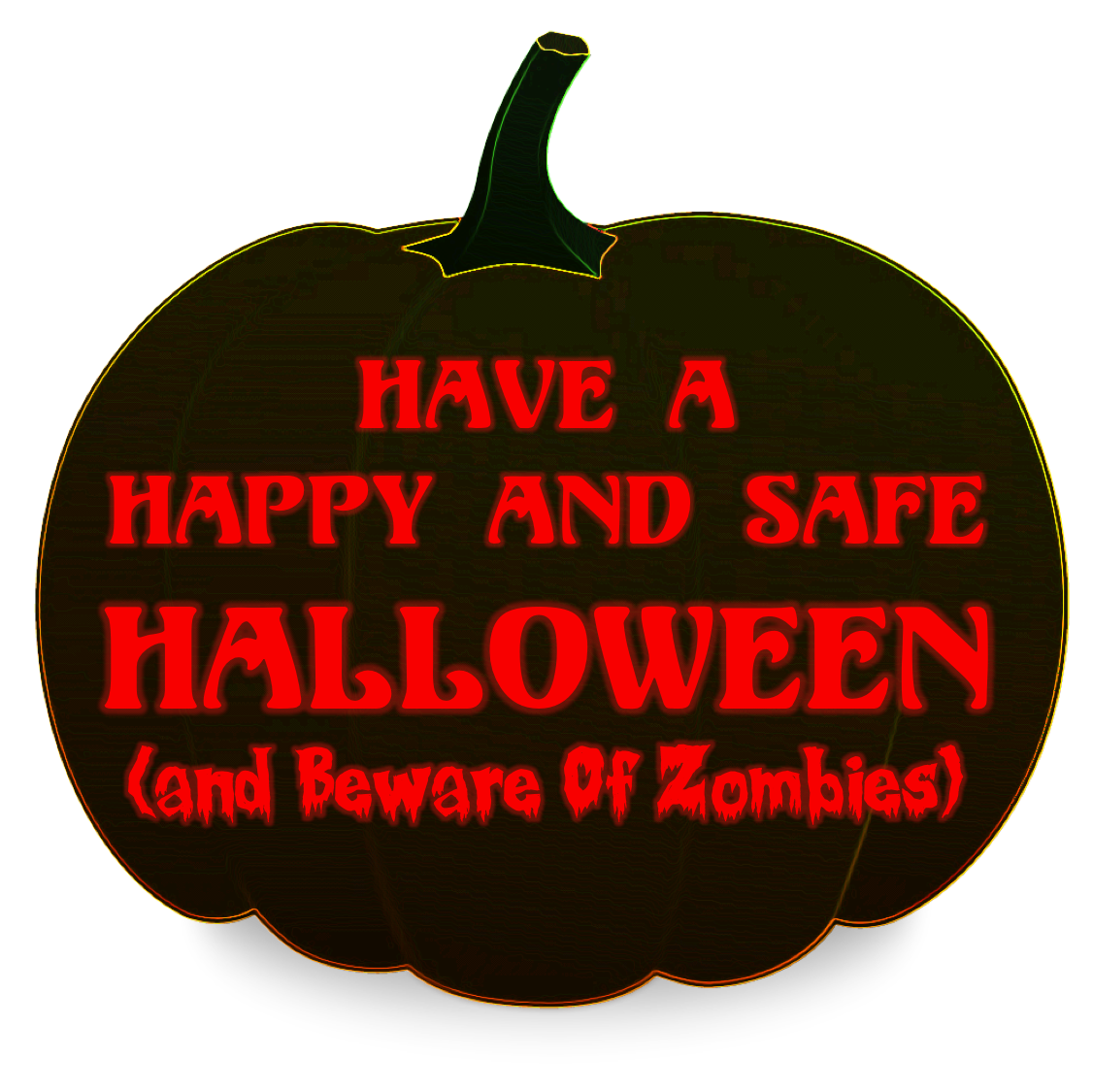 Halloween pumpkin clipart in green screen banner transparent Have a Happy and Safe Halloween (and Beware Of Zombies) | Lapin Law ... banner transparent